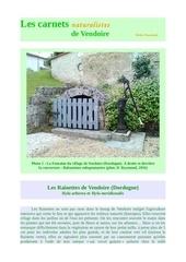 rainettes hyla meridionalis carnets vendoire d raymond 2017