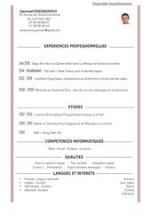 Fichier PDF cv zenzerovich gwenael