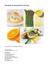 mantequilla de naranja