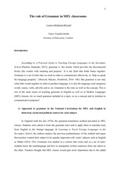 Fichier PDF the role of grammar in mfl classroom