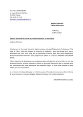 Fichier PDF lettre de motivation copie