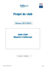 projet club 2012 complete