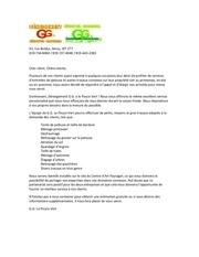 deneigement g g le pouce vert