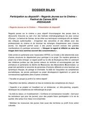 Fichier PDF dossier bilan