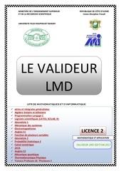 le valideur lmd l2 m a edition 2017