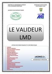 le valideur lmd l3 m a edition 2017