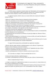Fichier PDF communique vdc anses ibf