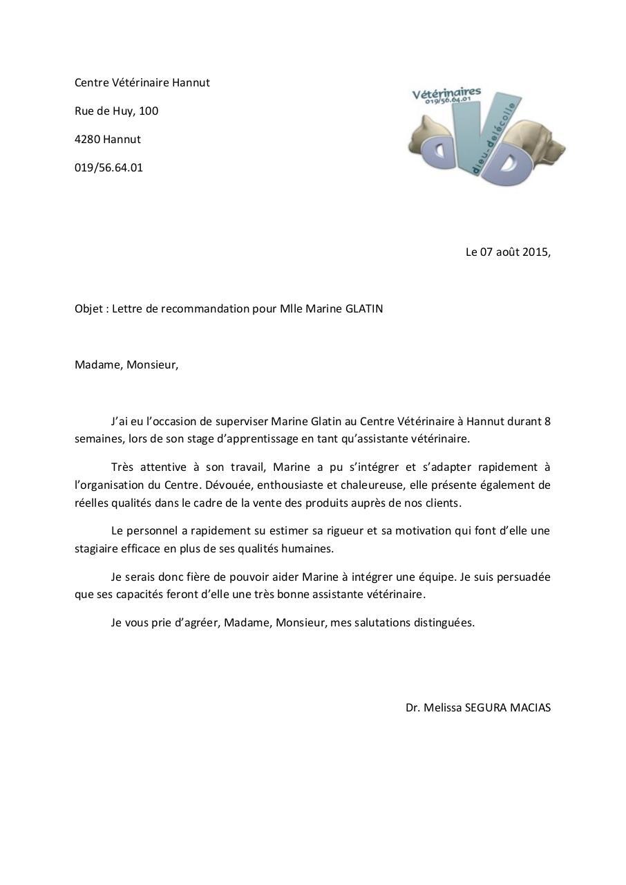 lettre de recommandation marine glatin par consultation3