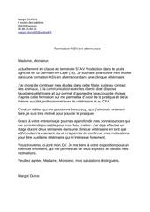 Fichier PDF lettre motivation