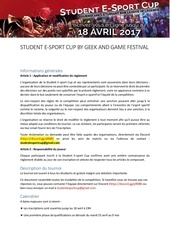 rules student esport cup