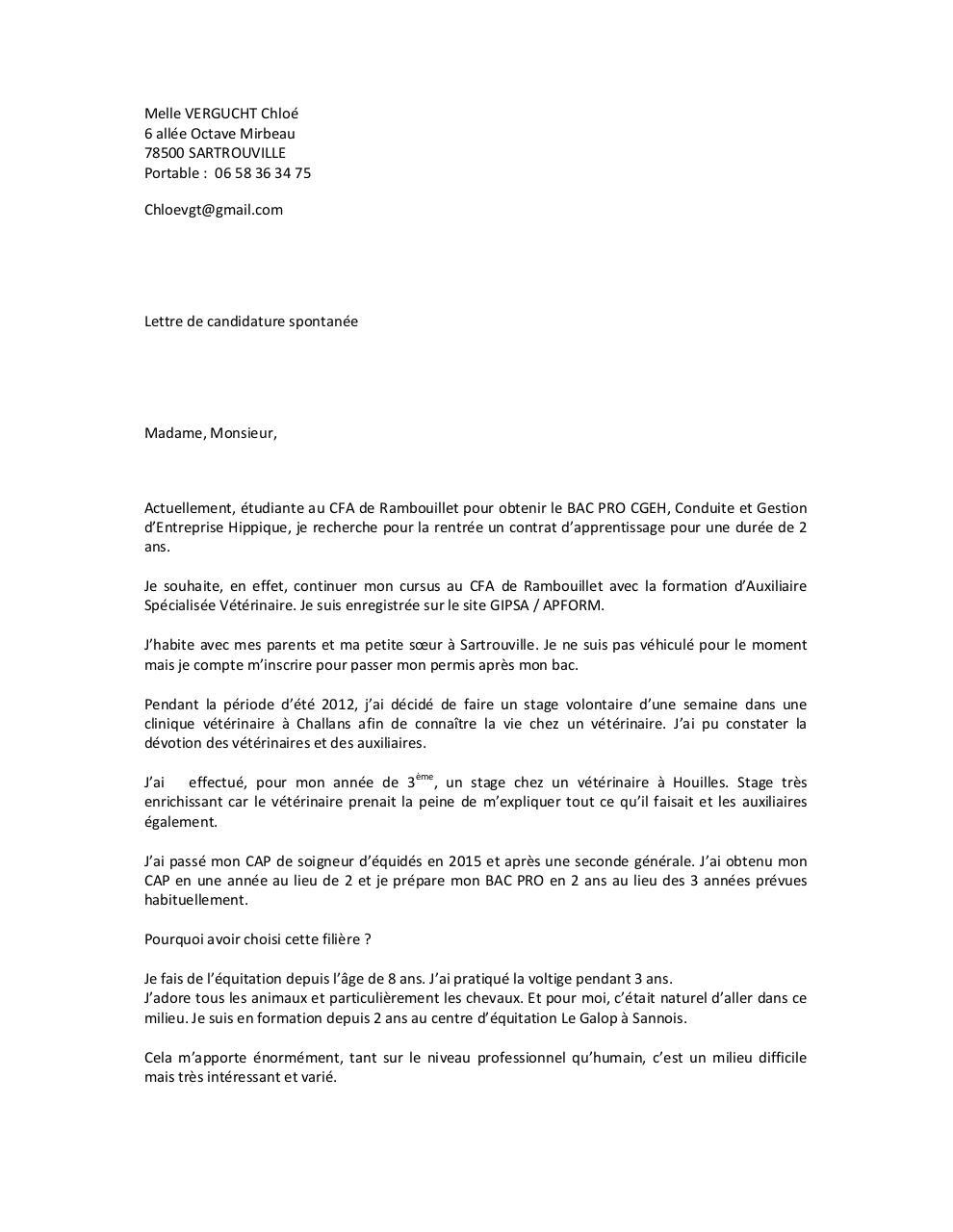 Vergucht Chlo 351 Contrat Apprentissage Docx Par Cdautry