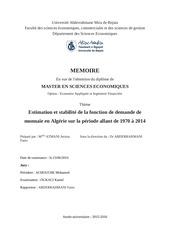Fichier PDF money demand in algeria