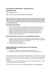 Fichier PDF offre de stage assistant administratif production