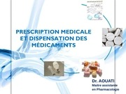 Fichier PDF prescription medicale