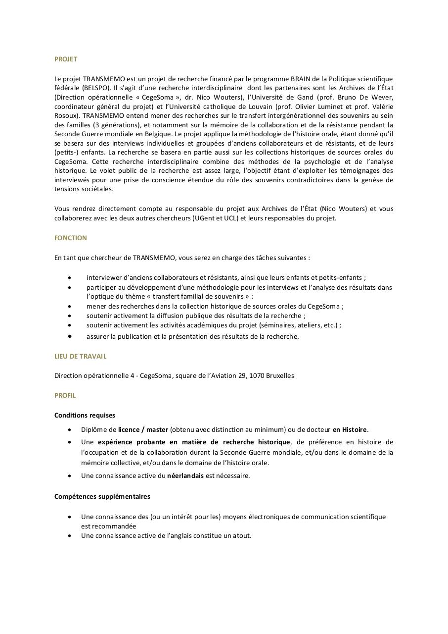 Aperçu du document VACATURE_BRAIN_TRANSMEMO CegeSoma.pdf - page 2/3