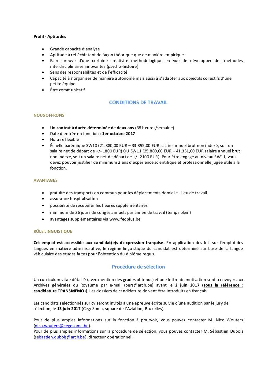 Aperçu du document VACATURE_BRAIN_TRANSMEMO CegeSoma.pdf - page 3/3