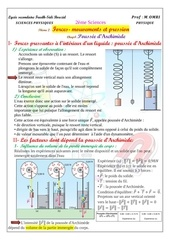 cours 5 poussee d archimede