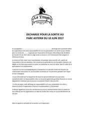 Fichier PDF decharge