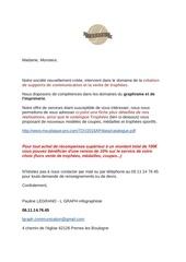 Fichier PDF mail