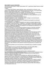 Fichier PDF re glement jeu concours etre etudiant sziget festival
