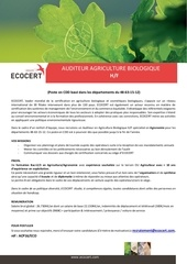 annonce ac prod cdd ecocert