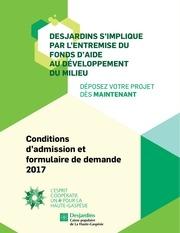 formulaire fadm 2017