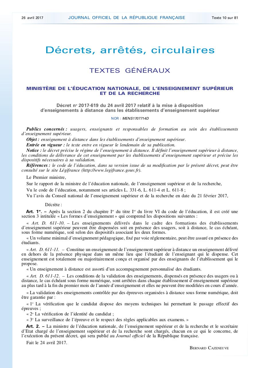 Aperçu du document Journal Officiel 26 avril 2015.pdf - page 1/2