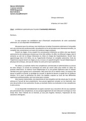 modele lettre de motivation modele pdf