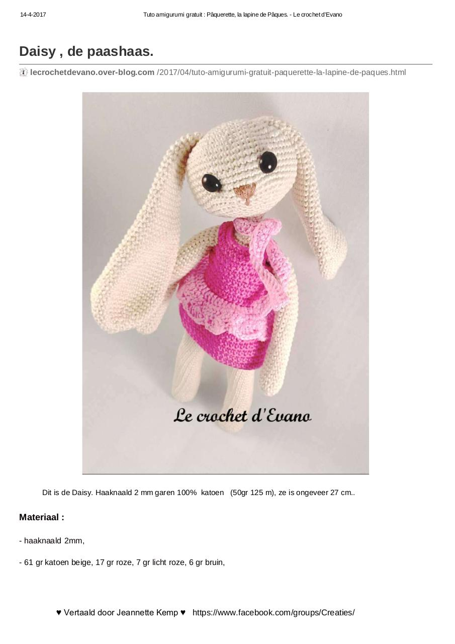 Recherche Pdf Amigurumi Crochet Tuto Français