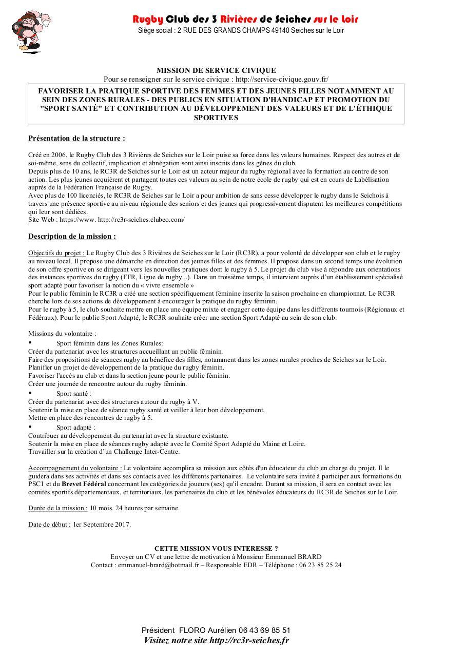 Candidature Sercive Sa Rf Et Sante Par Melisande Plaud Sevice