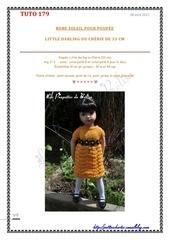Fichier PDF 179 robe soleil et fleurettes noires