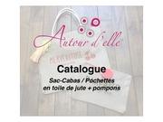 Fichier PDF catalogue autour d elle sac cabas pochettes toile de jute
