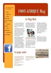 foot afrique bulletin 01