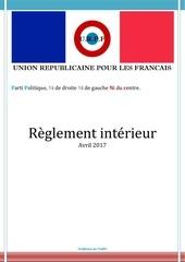 reglement interieur urpf pdf