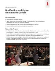 Fichier PDF bonification du rrq