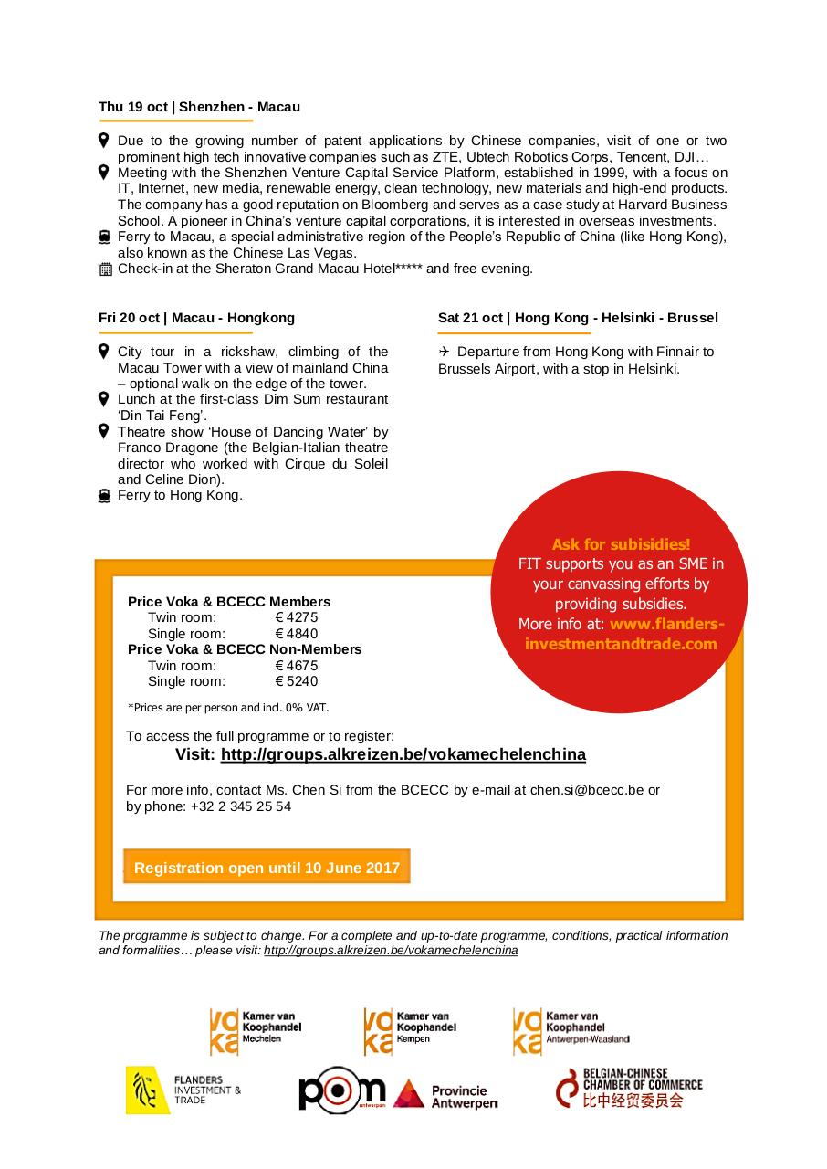 Aperçu du document ENG LEAFLET_B2B mission to China by Voka Mechelen in October.pdf - page 4/4