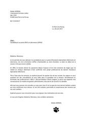 gladys gondal lettre asv