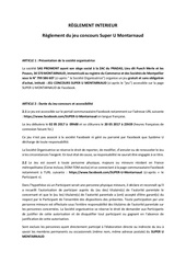 reglement jeu concours montarnaud 05 2017