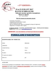 dossier inscription banne d ordanche 2017