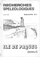 ile de paques expedition ethno speleologique 1983