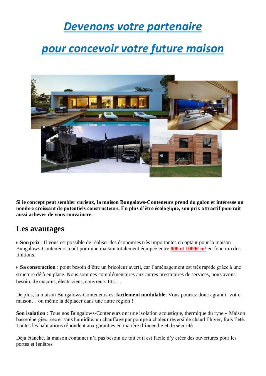 maison prix au m2 trendy extension maison prix au m extension maison bois m belle cout garage. Black Bedroom Furniture Sets. Home Design Ideas