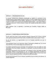 Fichier PDF re glement jeux concours lapins cretins salaise