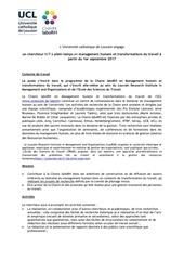 chaire labohr job description 17