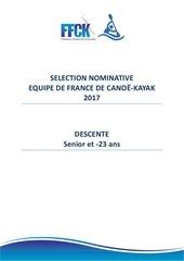 Fichier PDF des selec nominative eqf2017 sen u23 final