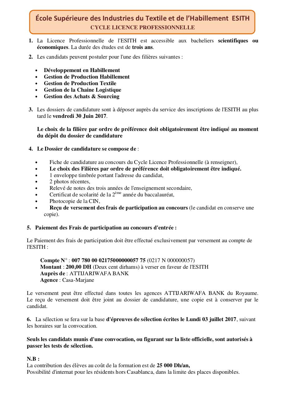 Aperçu du document ESITH_LicencePro (1).pdf - page 1/1