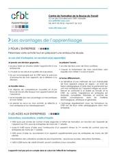 Fichier PDF avantages apprentissage cfbt