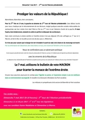 Fichier PDF tract 2nd tour