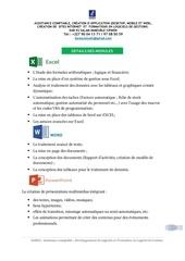 Fichier PDF details modules