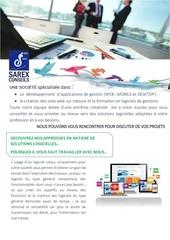 Fichier PDF plaquette commerciale sarex conseils
