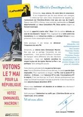 tract votons le 7 mai